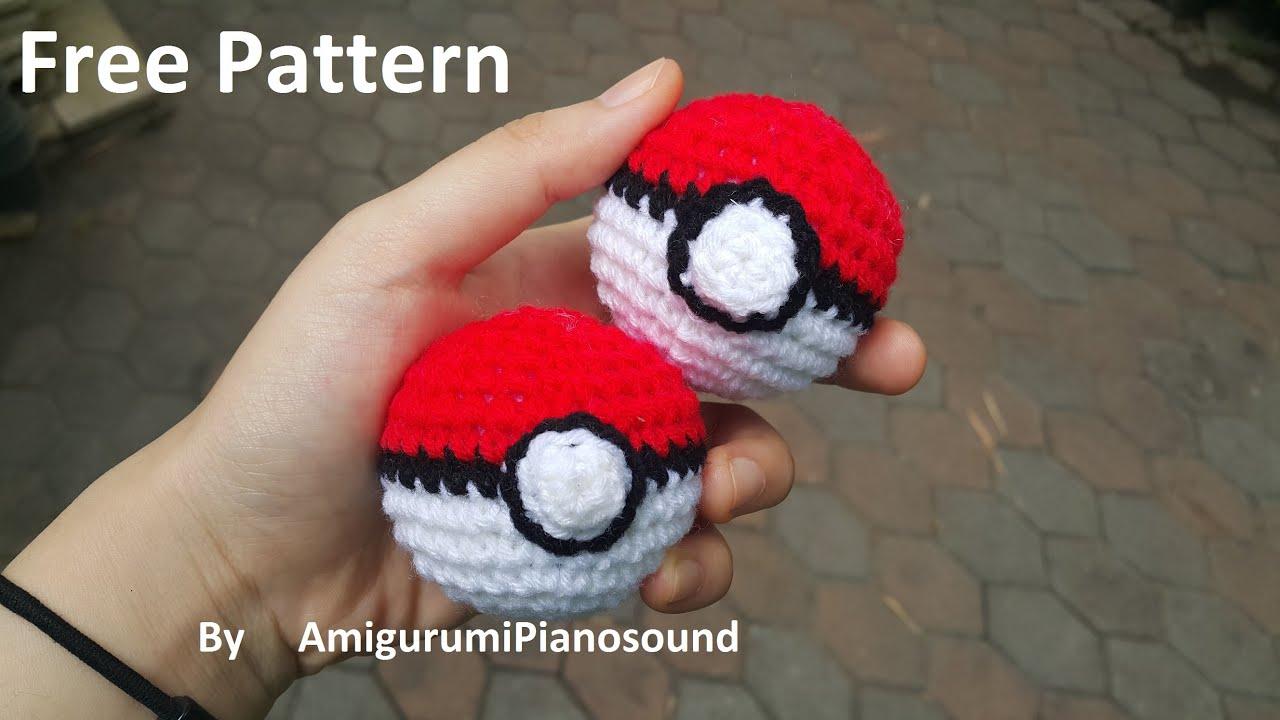 Pokeball Crochet Tutorial Youtube