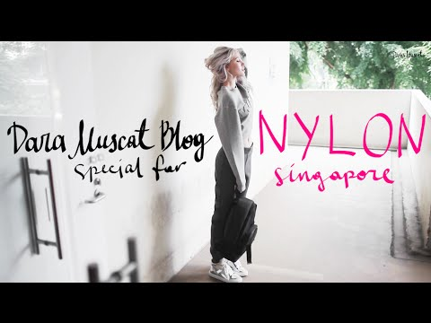 Dara Muscat Blog: Nylon Singapore Studio Guide and Backstage
