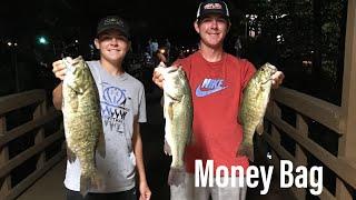 Winning Money While BASS FISHING (South Holston Lake)