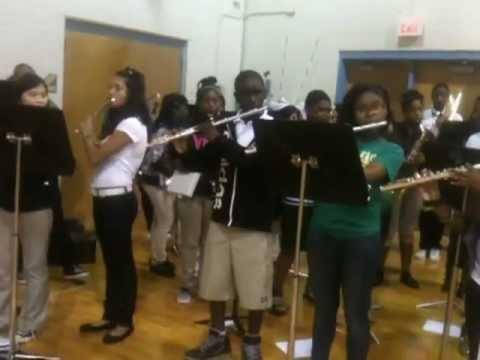 DeSoto East Middle School Band - Waka Flocka/Rick Ross Mash Up