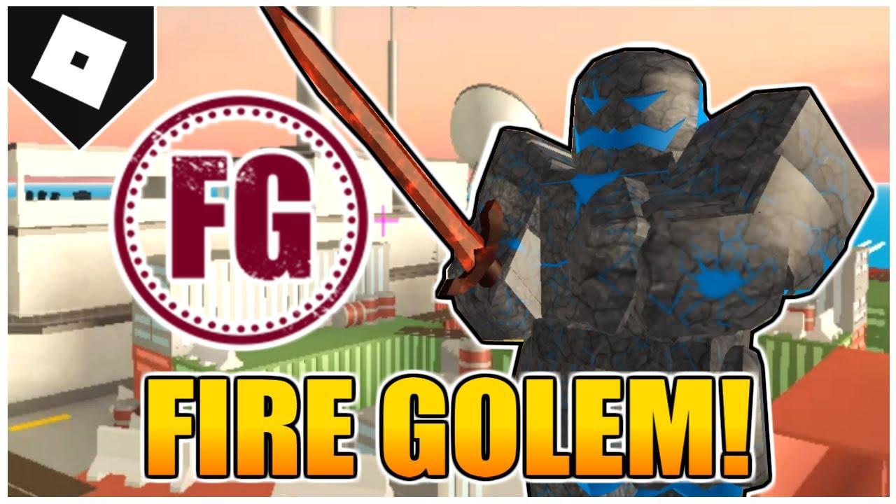 the fire golem skin in arsenal