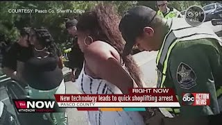 New technology leads to quick shoplifting arrest
