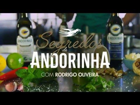 Segredos de Andorinha - Molho Pesto Rodrigo Oira