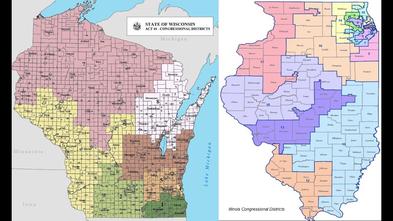 common cause wisconsin september map of illinois us representative districts