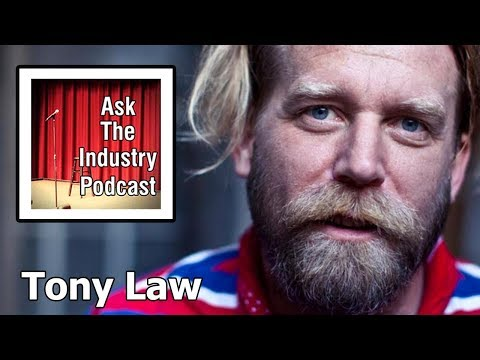 EP65 - Tony Law - Mental health and the live of a professional stand up comedian.