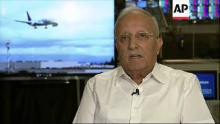 The former head of security of Israeli airline El Al says checking that electronics work at airport
