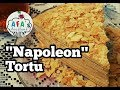 """""""Napoleon"""" tortu necə hazırlanır? """"Napoleon"""" tortun hazırlanması I Afa's foodland"""