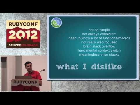Ruby Conf 12 - Ruby Vs. The World by Matt Aimonetti