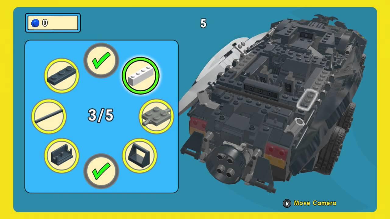 Building The Batmobile Lego Movie Game Secrets! - YouTube
