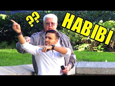 SPEAKING ARABIC TO STRANGERS - TWITTER DARE PRANK!