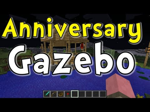 "Minecraft ""Anniversary Gazebo"" with MinecraftMom"