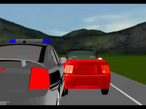 North Carolina State Hwy. Patrol Animation
