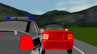North Carolina State Hwy. Patrol Animation