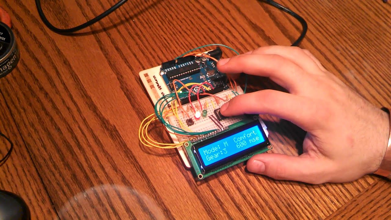 Arduino DCT Transmission Controller by Thomas Harris