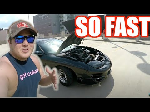 DODGE HELLCAT'S WORST ENEMY? 2001 Pontiac Firebird Review.... All The Boost!!!