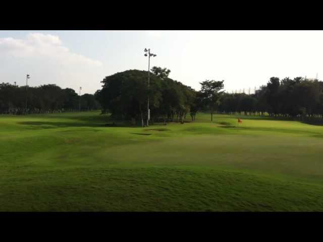 The KGA golf course at Bengaluru