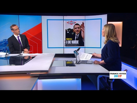 French press review: Macron 'just a step away' from Elysée Palace