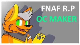 CREATE YOUR OWN FNAF CHARACTER! ROBLOX FNAF RP - OC MAKER