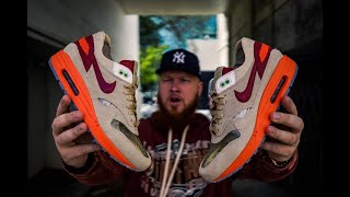 ARE THE CLOT NIKE AIR MAX 1 KISS OF DEATH SNEAKERS WORTH THE HYPE?!