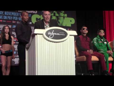 Robson Conceicao Pro Debut Press Conference