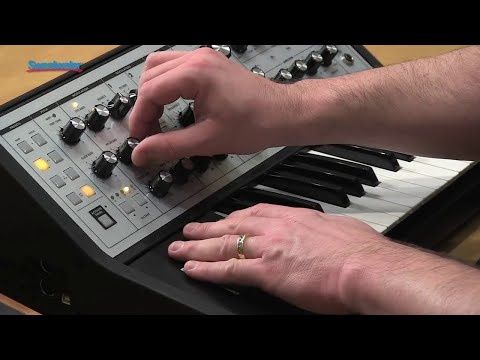 Moog Sub Phatty Synthesizer Demo by Daniel Fisher