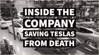 Inside the Largest Independent Tesla Repair Facility | Part 1 | Gruber Motors