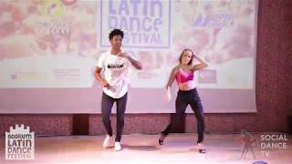 Gaby & Estefy - Salsa Social Dancing | Bodrum Latin Dance Festival 2018