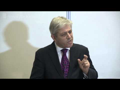 UK Parliament Open Lecture -- What does modern democracy require of Parliaments?