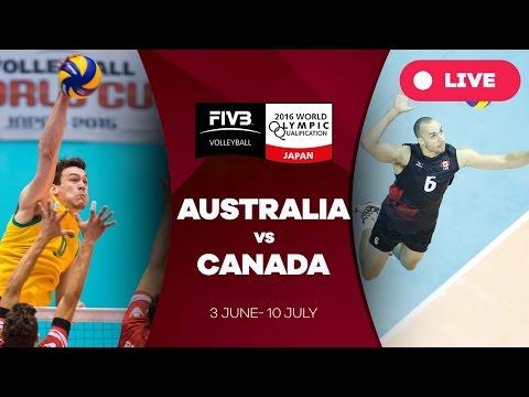 Australia v Canada - 2016 Men's World Olympic Qualification Tournament