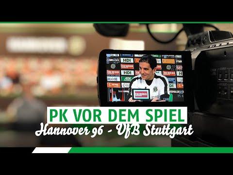 RE-LIVE: PK vor dem Spiel | Hannover 96 - VfB Stuttgart