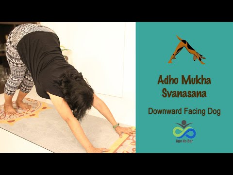 Adho Mukh Svanasana | Downward-facing Dog | Full Body Stretch | Most Common Yoga Pose