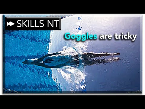 3 tips to keep your goggles in place during the swim dive