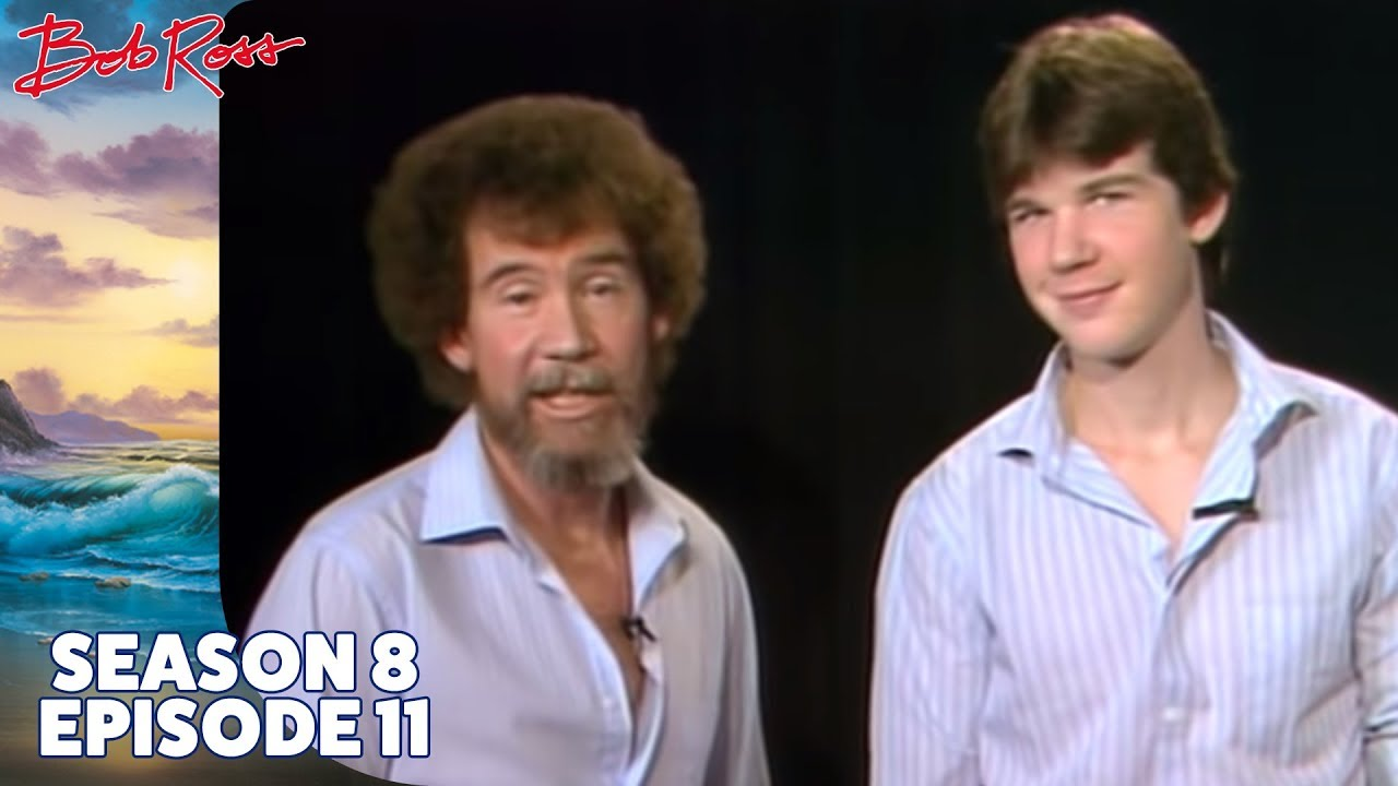 Bob Ross Mountain Range Season 8 Episode 11 Youtube