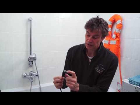 Demonstratie: Zones (NEN1010) in de badkamer van de elektrische installatie