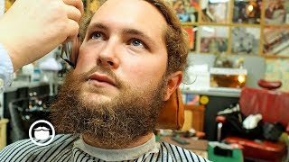 How to Clean Up a Messy Beard