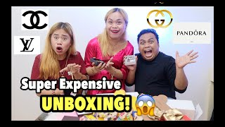 UNBOXING SUPER EXPENSIVE GIFTS + BUKINGAN! FT. KIM ARDA AND BEN SALISE!