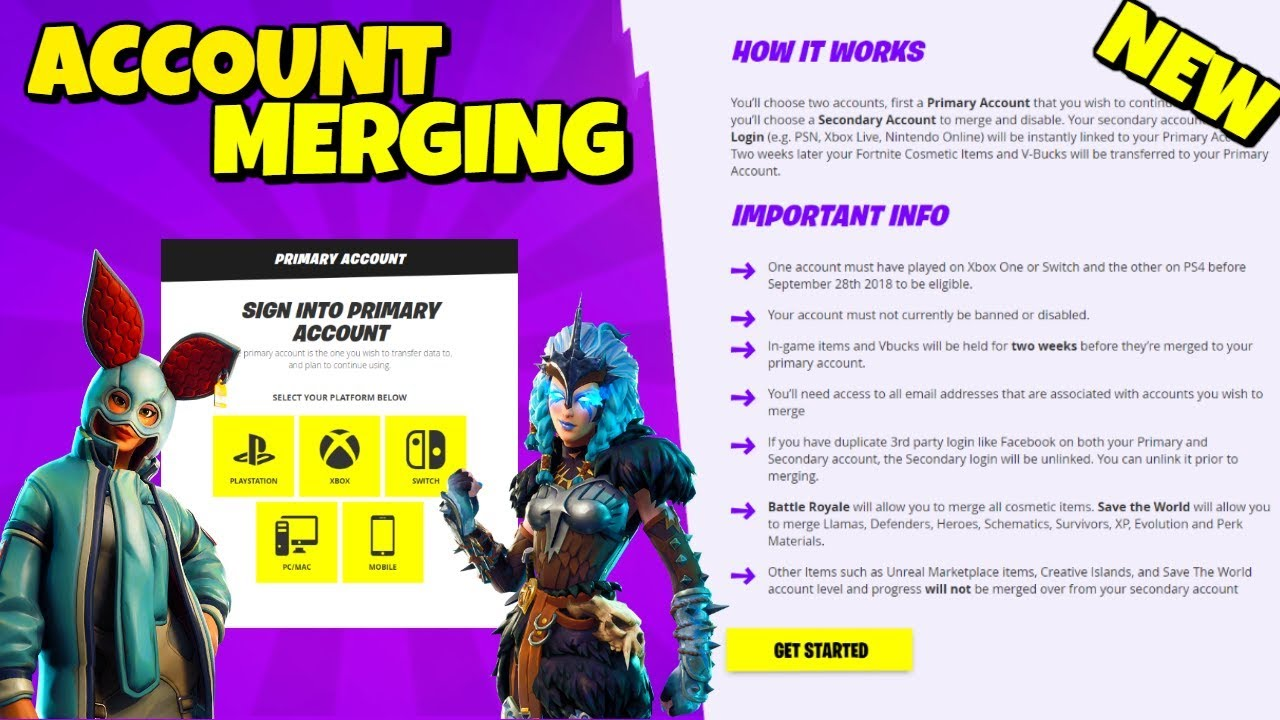 NEW ACCOUNT MERGING FEATURE - How to Merge Accounts ...