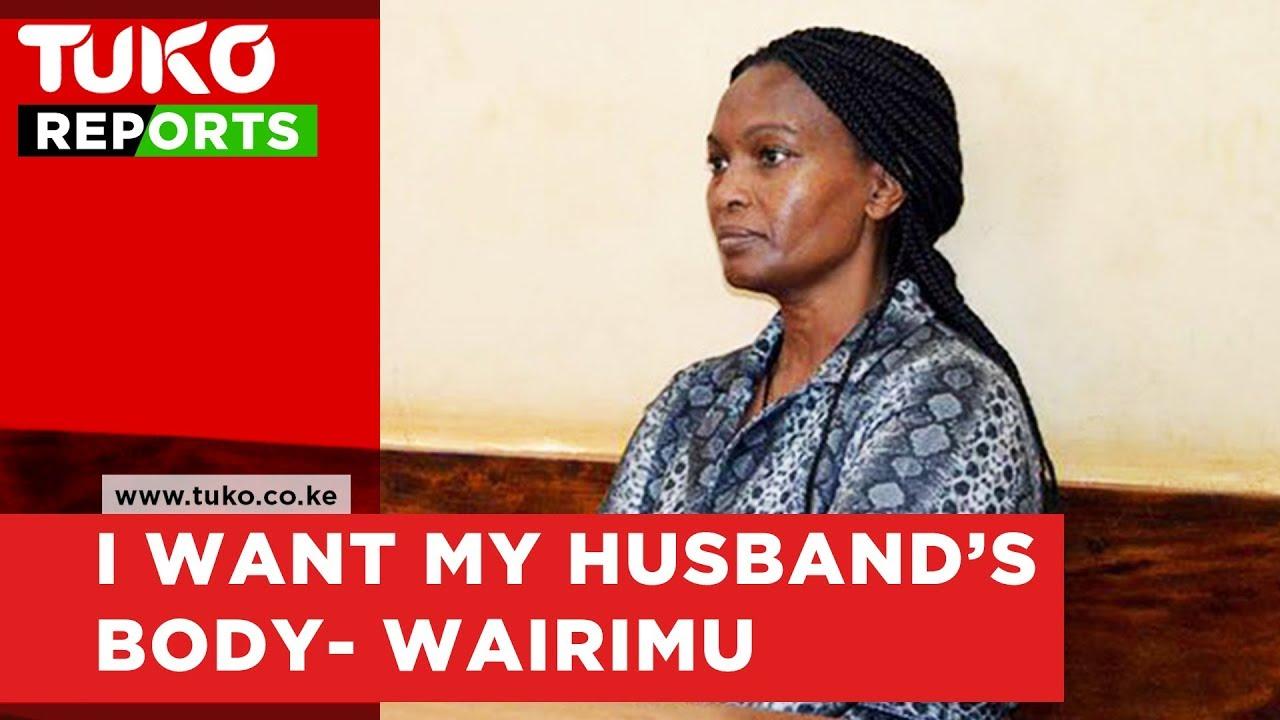 Sarah Wairimu demands Tob cohen's body | Tuko TV