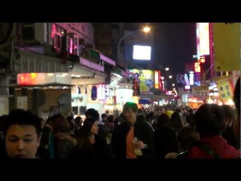 まるで迷路!台湾/台中の「一中街夜市」 Yizhong Street Night Market Taiwan Taichung