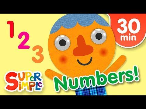 Our Favorite Numbers Songs   Kids Songs   Super Simple Songs