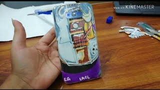 Funky Mobile Cover | Fun with Rough drawing | Timelapse video