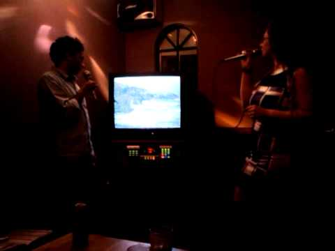 Karaoke with the Japanese Conversation Group