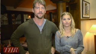 THR Sets: On Set with 'Happy Endings' Zachary Knighton, Elisha Cuthbert, Damon Wayans Jr., Eliza Cou