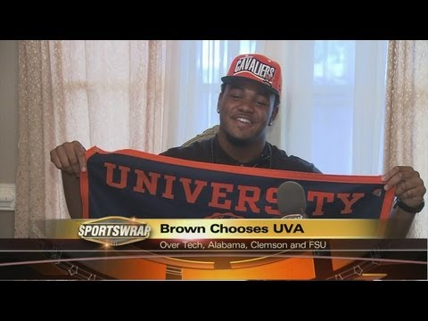 Andrew Brown Commits to the University of Virginia