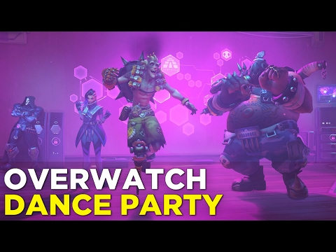 Overwatch Anniversary ALL DANCE EMOTES