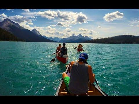 Banff and Jasper, Alberta - Via Ferrata, Moraine Lake, Maligne Lake GoPro