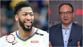 lakers want anthony davis deal done by july 6th to create more cap space woj sportscenter