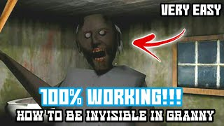 How To Hack GRANNY (HORROR GAME)