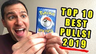 *IT'S BACK!* My Top 10 BEST Pokemon Cards Pulls (2019)