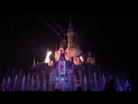 Ignite The Dream 4K Shanghai Disneyland 2018